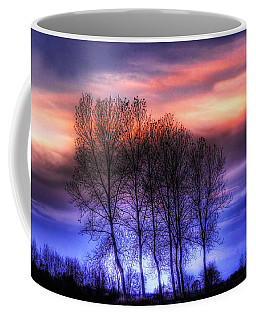 Trees And Twilight Coffee Mug