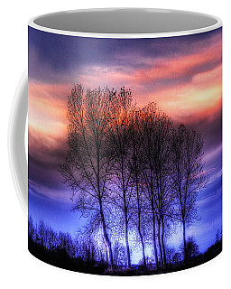 Trees And Twilight Coffee Mug