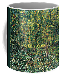 Trees And Undergrowth Coffee Mug