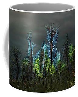 Trees Electrified In Fantasy Land Coffee Mug