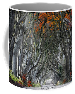Trees Embracing Coffee Mug