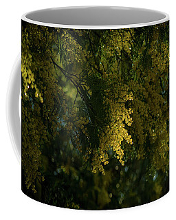 Trees In Bilbao Spain Coffee Mug