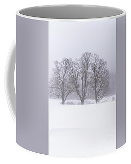 Trees In Fog Coffee Mug
