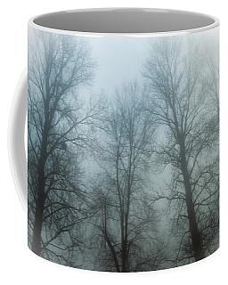 Trees In Mist Coffee Mug