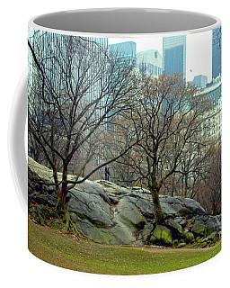 Trees In Rock Coffee Mug