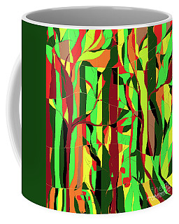 Trees In The Garden Coffee Mug