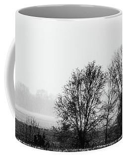 Trees In The Mist Coffee Mug by Jay Stockhaus