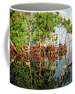 Trees In The Sea Coffee Mug