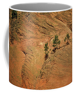Trees On A Ledge Coffee Mug