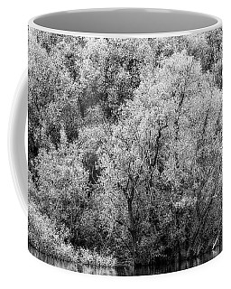 Trees On The River Coffee Mug