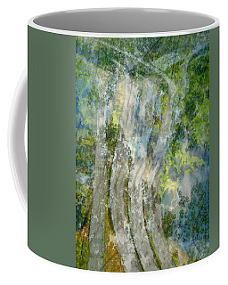 Trees Over Highway Coffee Mug