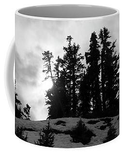 Trees Silhouettes Coffee Mug