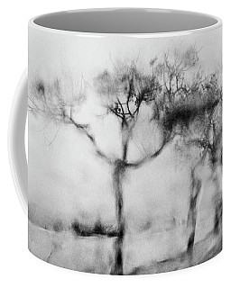 Trees Through The Window Coffee Mug by Celso Bressan