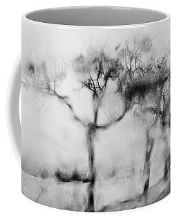 Trees Through The Window Coffee Mug