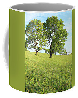 Coffee Mug featuring the photograph Summer Trees 2 by Melinda Blackman