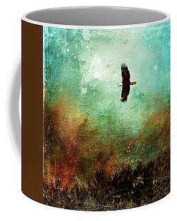 Treetop Eagle Flight Coffee Mug