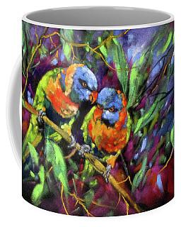 Treetop Rascals Coffee Mug by Rae Andrews