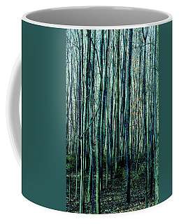 Treez Cyan Coffee Mug