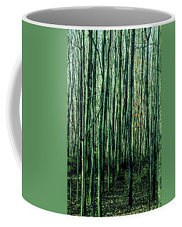 Treez Green Coffee Mug