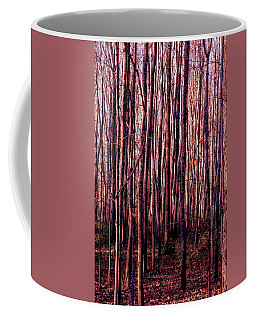 Treez Red Coffee Mug