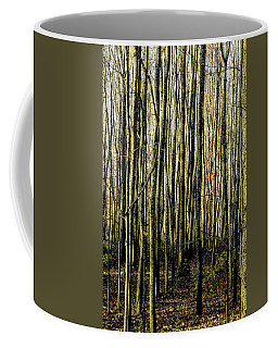 Treez Yellow Coffee Mug