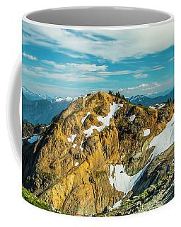 Trekking Into Camp Coffee Mug