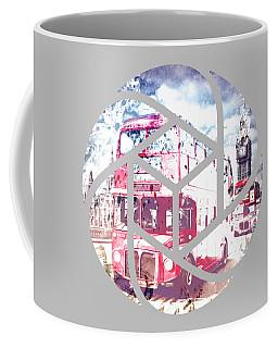 Trendy Design London Red Buses  Coffee Mug