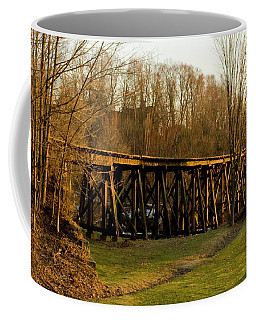 Tressel View Sunset  Coffee Mug
