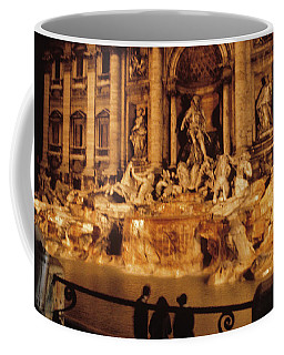 Trevi At Night Coffee Mug