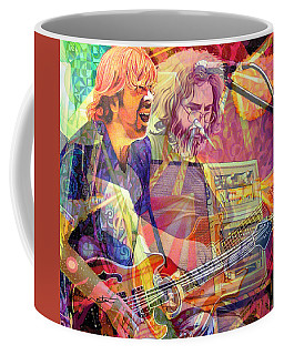 Trey Channeling Cosmic Jerry Coffee Mug