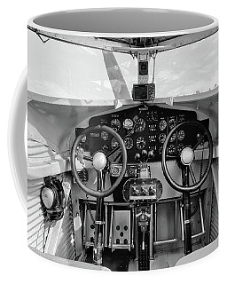 Tri-motor Cockpit - 2017 Christopher Buff, Www.aviationbuff.com Coffee Mug