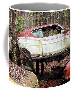Tri Stack Old Car Image Art Coffee Mug