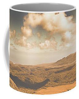 Trial Harbour Landscape Panorama Coffee Mug