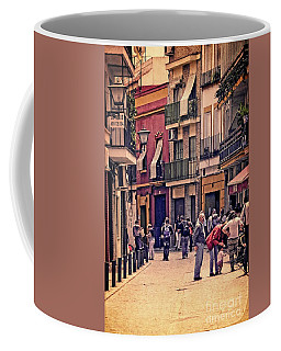 Coffee Mug featuring the photograph Triana On A Sunday Afternoon 2 by Mary Machare
