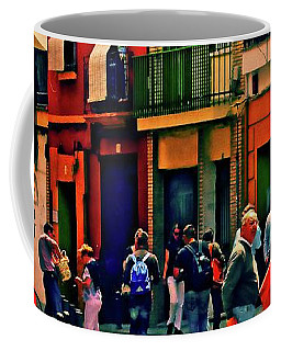 Coffee Mug featuring the photograph Triana On A Sunday Afternoon 3 by Mary Machare