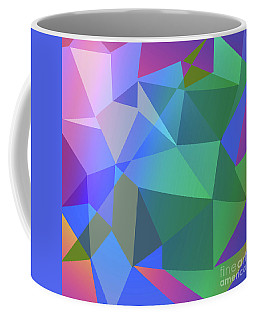 Triangle Abstract Color Coffee Mug