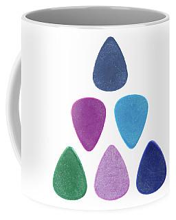 Triangle Made Of Guitar Picks Coffee Mug