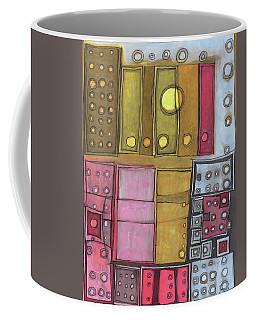 Geometric I Coffee Mug by Sandra Church
