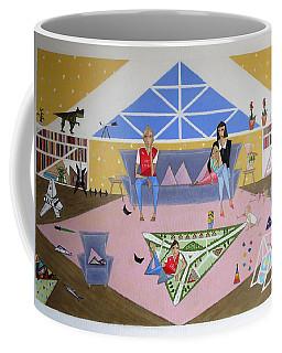 Triangular Life. Family Coffee Mug