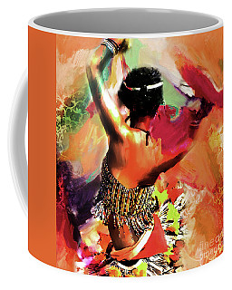 Tribal Dance 0321 Coffee Mug by Gull G