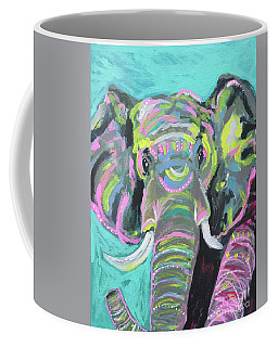 Tribal Elephant Coffee Mug