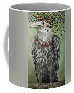 Coffee Mug featuring the painting Tribal Nature by Leah Saulnier The Painting Maniac