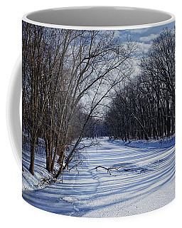 Coffee Mug featuring the photograph Tributary by John Gilbert