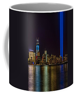 Tribute In Lights Memorial Coffee Mug by Susan Candelario