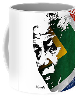 tribute to Nelson Mandela Coffee Mug