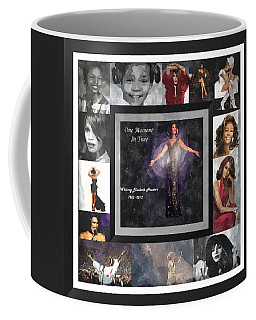 Tribute Whitney Houston One Moment In Time Coffee Mug