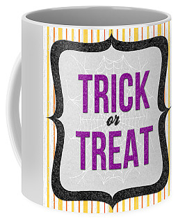 Trick Or Treat- Art By Linda Woods Coffee Mug