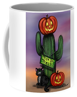Trick Or Treat Cactus Coffee Mug
