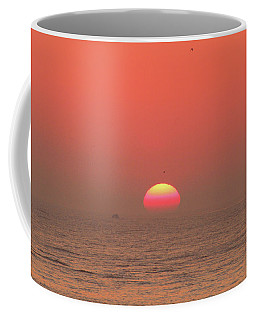Tricolor Sunrise Coffee Mug