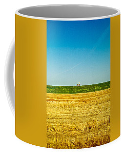 Tricolor With Tractor Coffee Mug